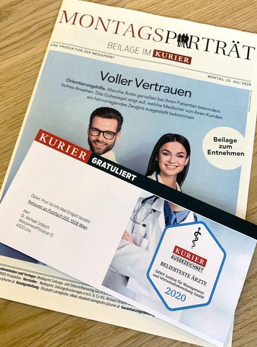 Kurier & IWMF – Beliebteste Ärzte 2020